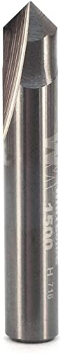 popular Whiteside Router Bits 1500 V-Groove Bit with popular 90-Degree 1/4-Inch Cutting Diameter and wholesale 1/8-Inch Point Length online
