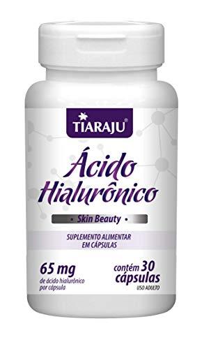 Ácido Hialurônico 30 cápsulas Tiaraju (contém 65mg de ácido H. por cápsulas)