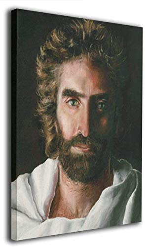 """Jesus Canvas Wall Art For Home Decor Prince Of Peace Painting The Poster Print On Canvas Christian The Pictures Artwork For Wall Decoration,Ready To Hang 16""""x20"""""""