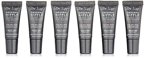 Dr.Lipp ORIGINAL NIPPLE BALM for dry skin, luscious lips & glossy bits - 6 Pack
