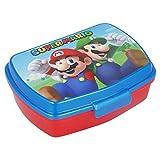 ALMACENESADAN 2712; Sandwichera Rectangular Multicolor Super Mario; Producto de plástico; Libre BPA