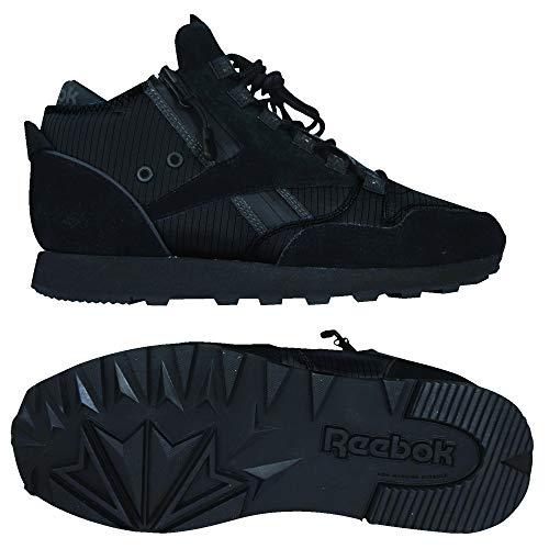 Reebok Classic Leather Mid Explore, Zapatillas Altas para Hombre, Negro (Black/Coal 0), 46 EU