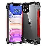 """Beeasy Funda iPhone 11,Carcasa Antigolpes Anti-Choques Anti-Arañazos Grado Militar Protección a Bordes y Cámara,Premiun Case para iPhone 11 6.1"""",Rojo"""