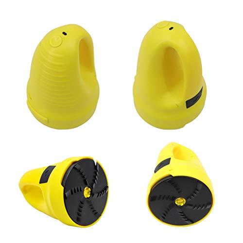 JTLB Dégivreur de Pare-Brises Chargement USBe, Grattoir Pare-Brise Voiture, Raclette Antigivre de Pare-Brise Pas de Rayures, Grattoir à Neige pour Voitures, Camions