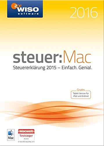 WISO steuer:Mac 2016 (für Steuerjahr 2015)