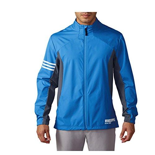 adidas Windstopper Veste de Golf Homme S Bleu