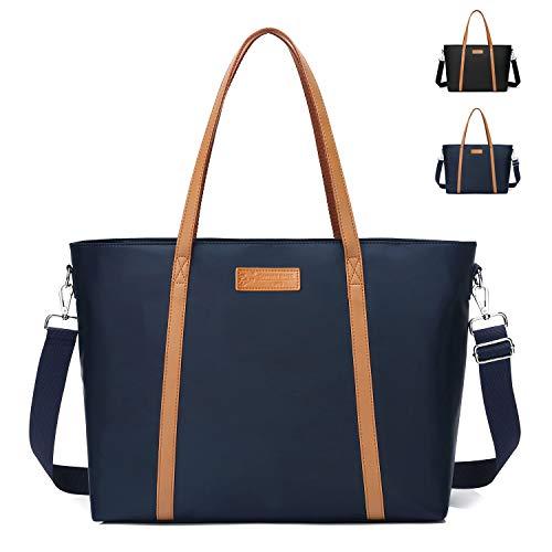 Große Tragetasche für Damen, Laptop-Tasche, Arbeit, Schultertasche, Tragetasche mit Trolley-Tasche