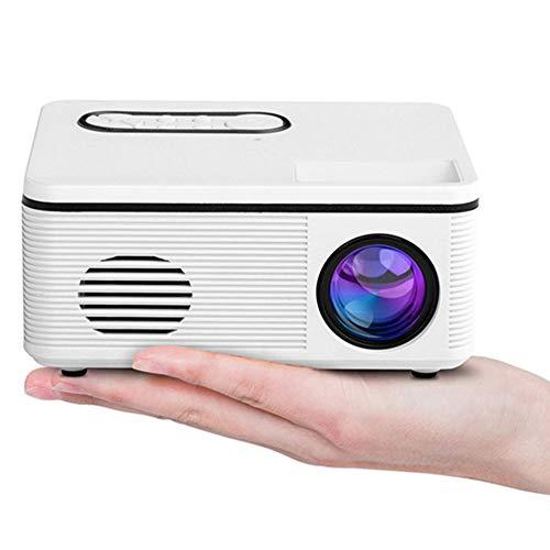 LWX Mini Proyector Proyector Casero del LED Fuente De Alimentación Portátil HD 1080P Bolsillo Puede Estar Conectado Al Móvil