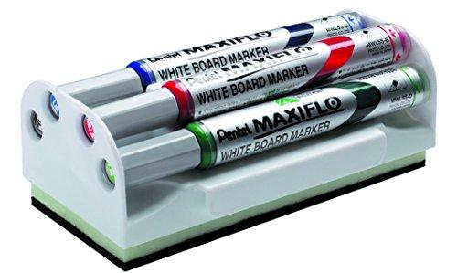 Pentel Maxiflo - Paquete 4 unidades pizarra, multicolor