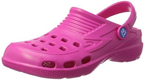 Beck Unisex 956 Clogs, Pink (Pink 06), 43 EU