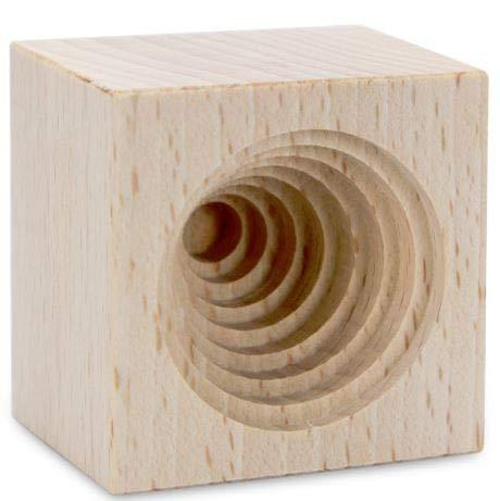 Städter 841314 Prägeform, Holz, Braun