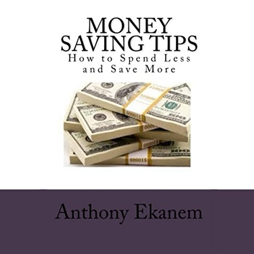 Money Saving Tips audiobook cover art