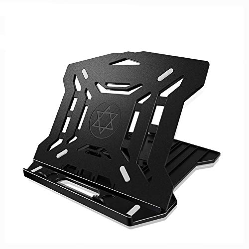 """Laptop Stand, Portable Laptop Desk Holder, 8-Levels Adjustable Notebook Riser Mount, Computer Stand, Compatible with MacBook Pro Air, Dell,10-17.3""""Laptops"""
