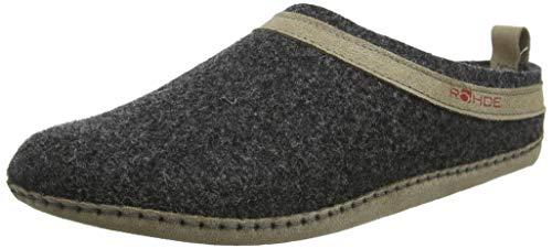 Rohde Damen Venosa Pantoffeln, Grau (Anthrazit 82), 41 EU