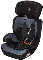 Babyauto Konar Car Seat, From Age 1 to 12 years,Group 1/2/3-Black