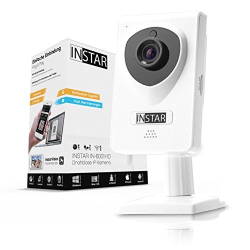 INSTAR IN-6001HD weiss - WLAN Überwachungskamera - IP Kamera -...