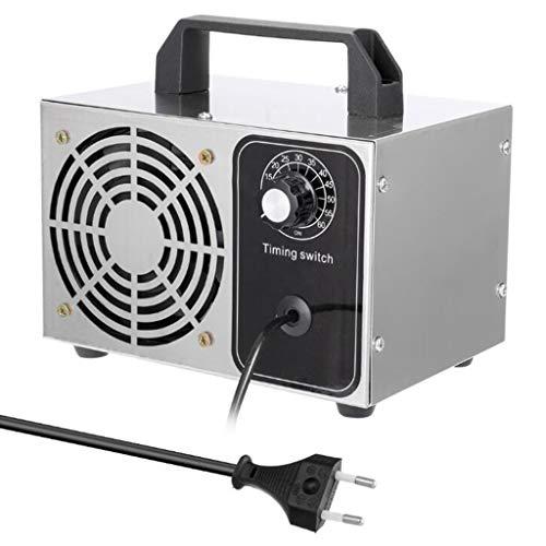 Generador ozono industrial 10,000 mg / h, Desodorante purificador aire máquina ozono comercial , Generador ozono purificación aire doméstico, Adecuado para habitaciones, humo, automóviles y mascotas.