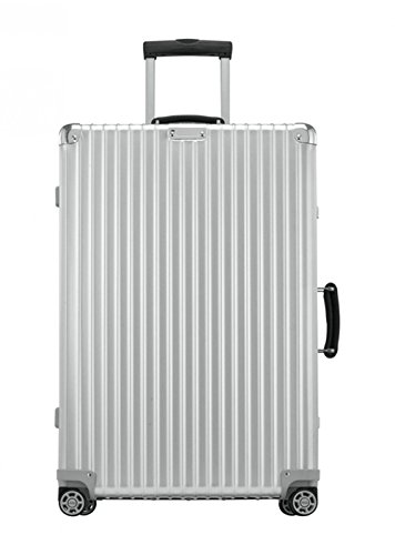 Rimowa Classic Flight Carry on Luggage 28' Inch IATA Cabin Multiwheel 60L TSA Suitcase Silver
