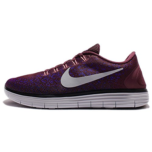 Nike 827115-600, Scarpe da Trail Running Uomo, Bordeaux/Grigio/Viola (Night Maroon Wolf Grey Fierce Purple), 41 EU