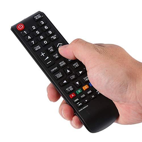 Allsor Mando a Distancia Universal, Mando a Distancia, Mando a Distancia de Repuesto Negro Inteligente, Teclas de navegación de menú para Smart TV para Samsung
