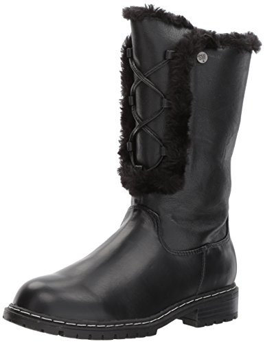 Stuart Weitzman Girls' Luge Heidi Fashion Boot Black 13 M US Little Kid