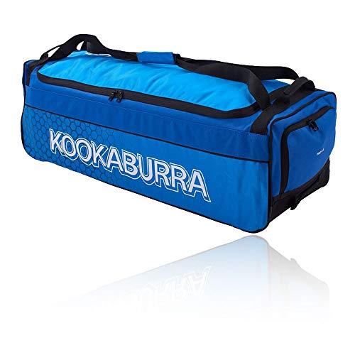 KOOKABURRA 4.0 Cricket Wheelie Bag, Marineblau/Cyan, Einheitsgröße