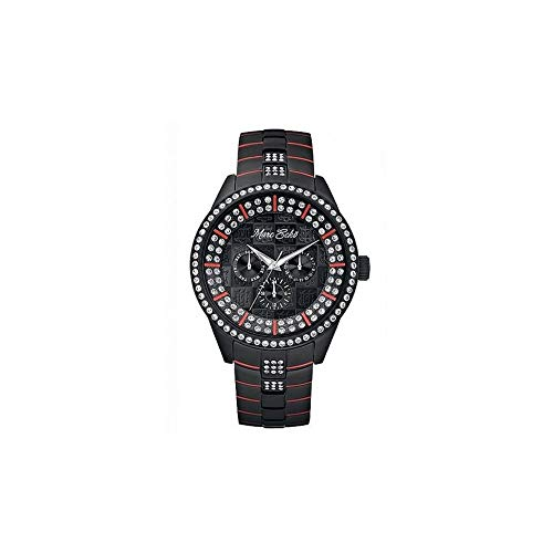 Marc Ecko Reloj Análogo clásico para Hombre de Cuarzo con Correa en Acero Inoxidable E21578G1