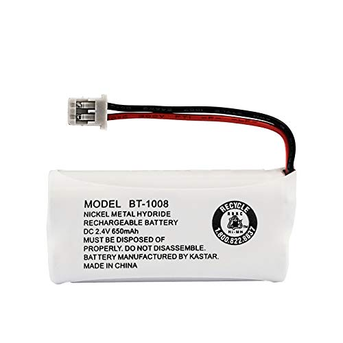 Kastar Ni-MH 2.4V 650mAh Rechargeable Battery Replacement for BT-1016 BT-1008 BBTG0645001 BBTG0734001 BBTG0847001 65AAAH2BMS