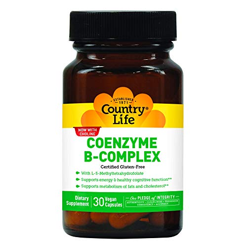 Country Life Coenzyme B Complex, 30-Count