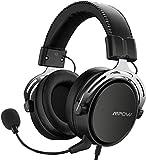 Mpow Air Se Casque Gaming avec Son Surround 3D, PS4 Casque avec Micro antibruit, Casque de Chat de Jeu, Casque de Jeu pour PC, PS4, Xbox
