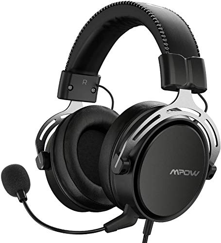 Mpow Air SE Auriculares Gaming para PS4/PC/Xbox One/Switch/Mac,...