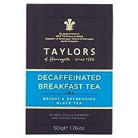 Taylors Of Harrogate BG18896 Taylors Of Harrogate Decaf Breakfast Tea - 6x20BAG