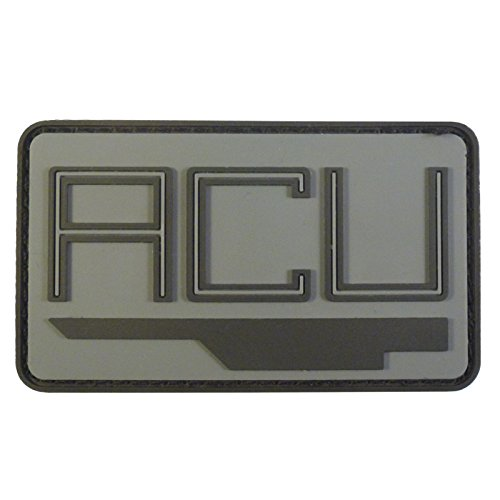 2AFTER1 Jurassic World ACU Ingen Asset Containment Unit Collector PVC 3D Rubber Touch Fastener Patch
