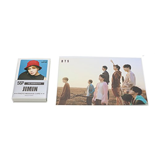 BTS Kpop JIMIN Solo Photo cards Set 59pcs