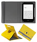 "Acm Rotating Leather Flip Case Compatible with Kindle Paperwhite 6"" Tablet Cover St"