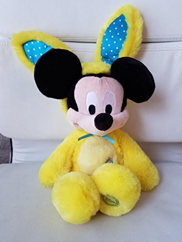 Disney Scented Mickey Mouse Plush Bunny - 17'' - Yellow