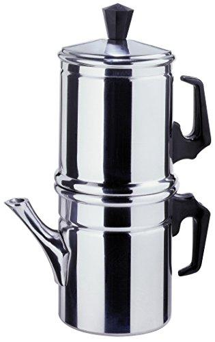 Ilsa Napoletana Kaffeemaschine, Aluminium, Silber, für 1 Tasse