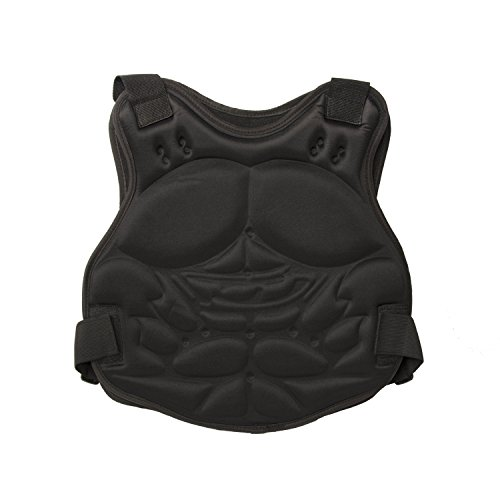ALEKO PBCPV53 Paintball Airsoft Chest Protector Tactical Vest Outdoor Sports Body Armor Camouflage
