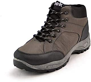Dek Mens 6 Eyelet PU Leather Hiker Boot