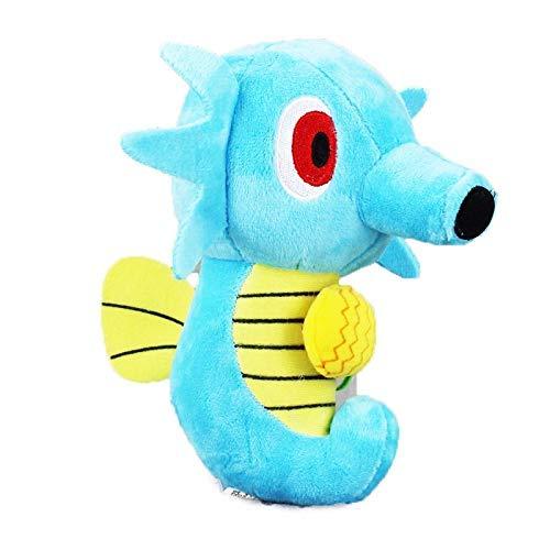 Fymmm`shop Stofftier 17Cm Anime Haustiere Plüschtier Horsea Seahorse Weiche Ausgestopfte Puppen Geschenke Für Kinder