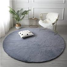 HAYI Vloerkleden, Super zacht konijn faux bont pluche area tapijt kwekerij pluche shaggy tapijt antislip tapijt wasbare vl...
