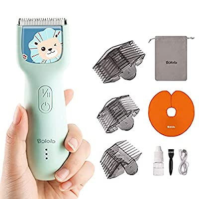 Amazon - 30% Off on Baby Hair Clippers – Quiet Kids Hair Trimmer, Cordless & Waterproof Chargeable