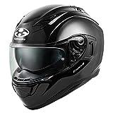 オージーケーカブト(OGK KABUTO)バイクヘルメット フルフェイス KAMUI3 ブラックメタリック (サイズ:XL) 584696
