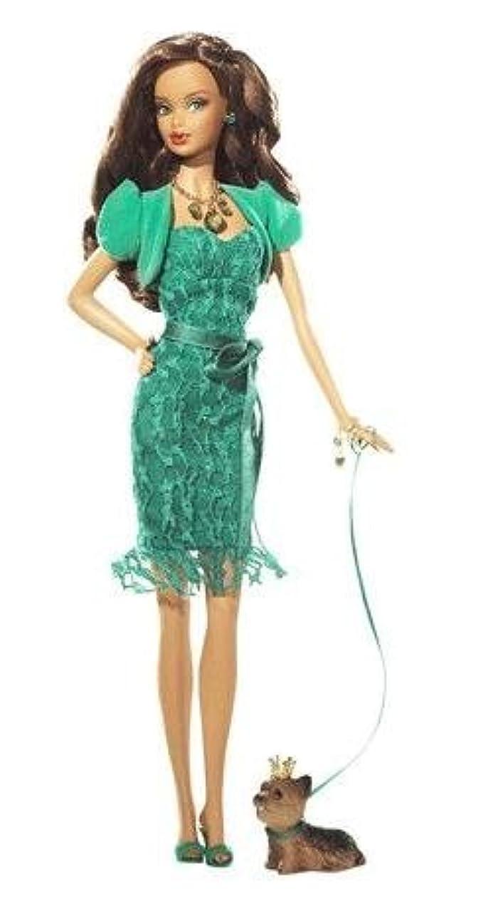 パース蘇生するコードレスBarbie バービー Collection Birthstone Beauties African American - Emerald May - L7576 人形 ドール 【並行輸入】