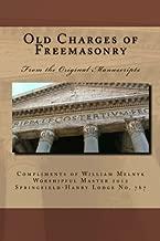 old charges of freemasonry