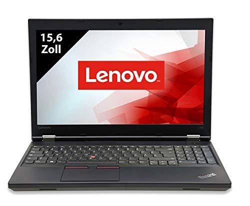 Lenovo ThinkPad L560-15,6 Zoll - Core i5-6300U @ 2,4 GHz - 8GB RAM - 256GB SSD - FHD (1920x1080) - Webcam - Win10Home A (Zertifiziert und Generalüberholt)