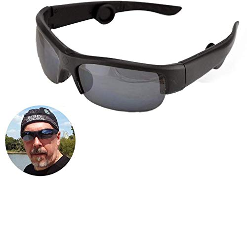 Xiao Tian Sport Bluetooth conduzione ossea Intelligenti Occhiali da Sole, Occhiali a conduzione ossea Bluetooth Auricolare