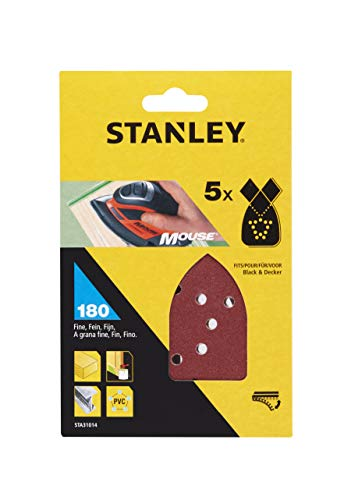 Stanley STA31014-XJ schuurpapier 5 stuks schuurmachine accessoires