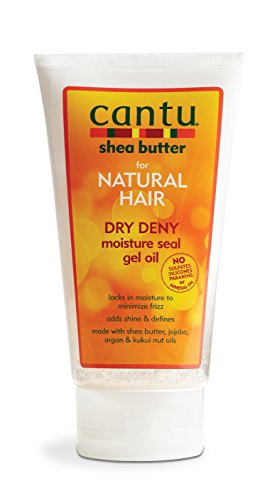 Price comparison product image Cantu Shea Butter for Natural Hair Dry Deny Moisture Seal Gel Oil,  5 Ounce