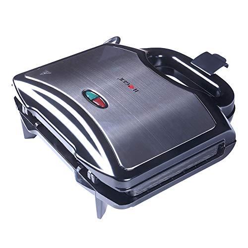 X-xyA Sándwich Tostadora, Sandwichera Eléctrica Panini Press con Antiadherente Recubierto Calefacción Y De Doble Cara De Doble Cara, Fácil De Limpiar